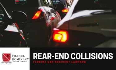 File a report for a rear-end accident in Boynton Beach