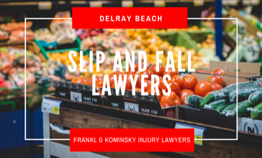 File a slip and fall claim for Fresh Market in Delray Beach