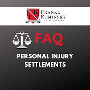 FAQs Personal Injury Settlements