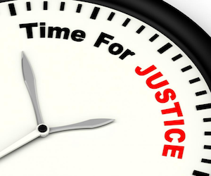 Time for Justice Message