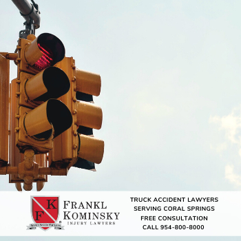 File a truck accident injury claim in Coral Springs Florida.