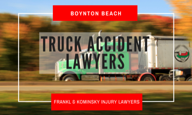 Report a truck crash in West Palm Beach Florida