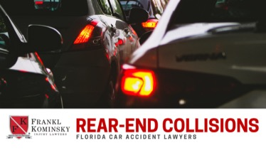 West Palm Beach Rear-End Accident Claims